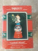 1991 Enesco Gumball Wizard Christmas Ornament Forever Friends Series - $13.76
