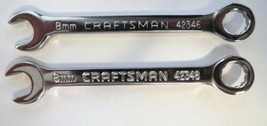 Craftsman 42346 8mm Combination Wrench 12 Point 2 PCS - $3.47