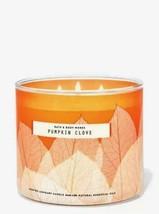 Pumpkin Clove Three Wick Candle - Bath and Body Works - $16.00