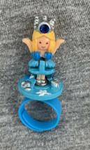Vintage 1992 Polly Pocket Sky Princess Ring COMPLETE!  Blue - $33.65