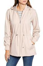 Bernardo Womens Lt Pink Wind Proof Water Resistant Breathable Raincoat Jacket XL image 3
