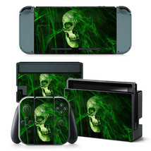 Nintendo Switch Skull Console & Joy-Con Controller Decal Vinyl Art Skin ... - $12.84