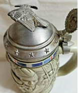 1990 Tribute to the American Armed Forces Beer Stein Mug Avon #208067 - $29.95
