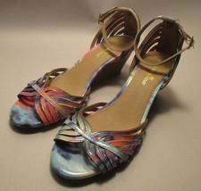 Montego Bay Club Womens 8 1/2 M Wedge Heel,Ankle Strap,Peep Toe Sandals - $15.82