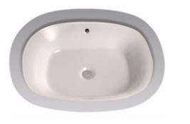 """TOTO LT972.8-01 Guinevere 25"""" Pedestal Sink Basin w/ 8"""" Faucet Holes in White - $195.97"""