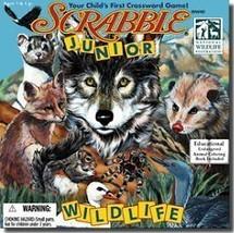 Hasbro Scrabble Junior: Wildlife - $27.48
