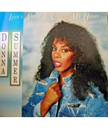 """Donna Summer-Love's About To Change My Heart-LP-1989-NM/EX  12"""" Single - $9.90"""