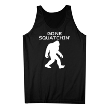 Gone Squatchin' Classic Bigfoot Sasquatch Silhouette Tank Top - €15,80 EUR+