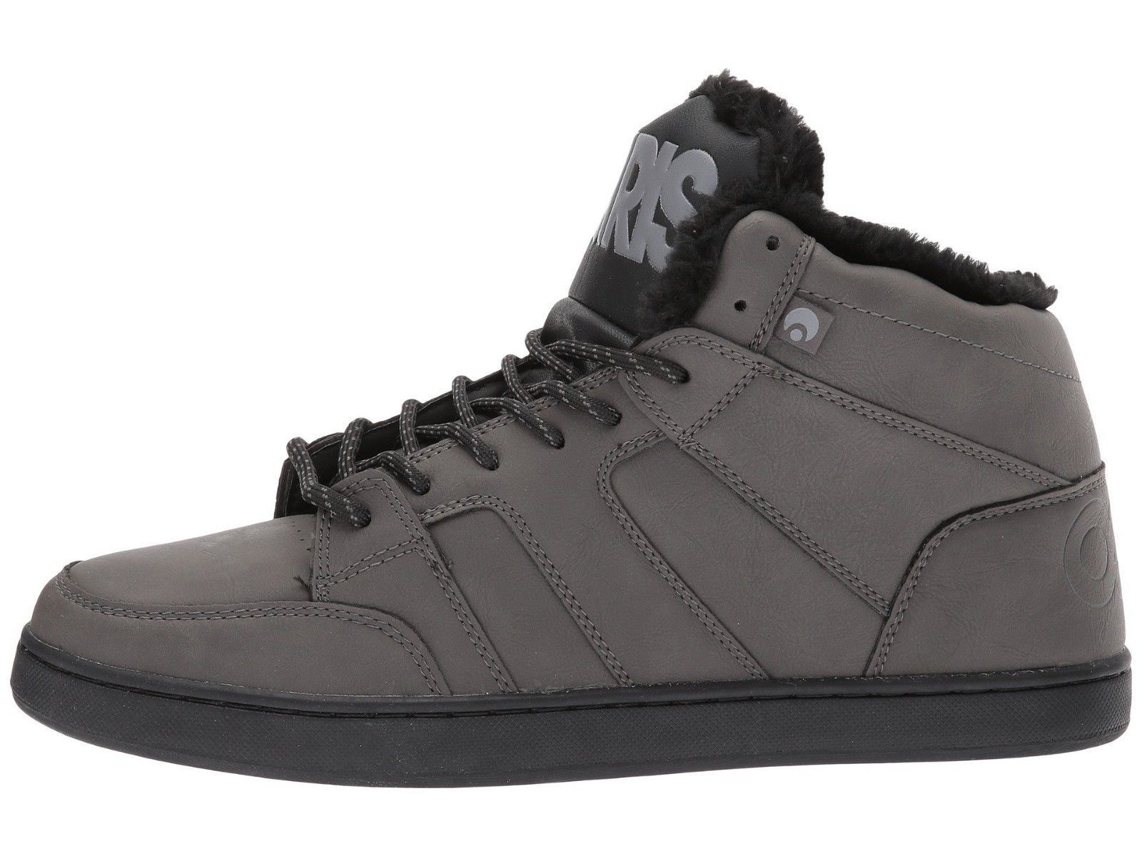 f7067d9b09768 MENS OSIRIS CONVOY MID SHR SKATEBOARDING SHOES NIB CHARCOAL WORK