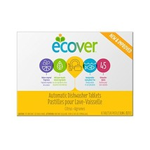 Ecover Automatic Dishwasher Soap Tablets, Citrus, 45 Count - $12.41