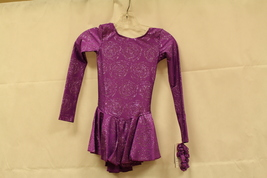 Mondor Model 666 Girls Skating Dress Purple Peony SIze Adult Small - $90.00