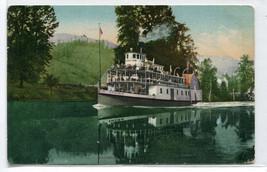 Steamer Idaho St Joseph River ID 1910 postcard - $6.44