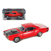 1969 Dodge Coronet Super Bee Red 1/24 Diecast Model Car by Motormax 73315r - $35.10