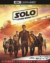 Solo A Star Wars Story (4K Ultra HD + Blu-ray + Digital, 2018)