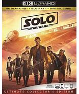 Solo A Star Wars Story (4K Ultra HD + Blu-ray + Digital, 2018) - $19.95