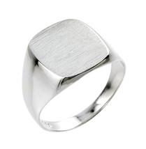 Homme Argent Sterling Chevalière - £45.61 GBP