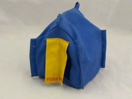 Vintage Fisher-Price Adventure People Northwoods Trailblazer Blue Fabric... - $12.43