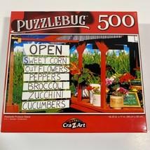 "PUZZLEBUG CraZart 18.25"" X 11"" Puzzle 500 Piece ROADSIDE PRODUCE STAND - $11.25"