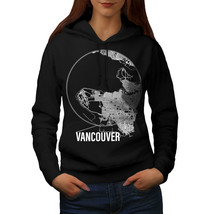 Canada Big Vancouver Sweatshirt Hoody City Map Women Hoodie - $21.99+