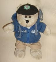 Starbucks  LOS ANGELES Bearista Plush Bear with Hoodie Limited Edition 2007 - $9.89