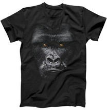 Majestic Gorilla Face Tee Shirt Animals Cool And Humor T-Shirt  - $14.04+