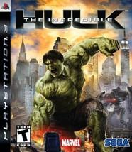 The Incredible Hulk (PlayStation 3, 2008) - Brand New Sealed  - $121.51