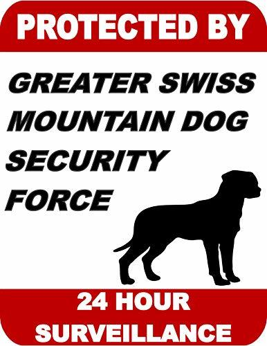 Primary image for Top Shelf Novelties Protected by Greater Swiss Mountain Dog Dog Security Force 2