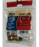 Blue Hawk 0644915 P2C Brass Fitting Polybutylene Transition Coupling - $8.92