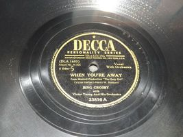 1947 Bing Crosby, Victor Herbert and His Orchestra  AA19-1602 Vintage Decca Reco image 7