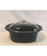 Rival Crock Pot replacement insert ceramic liner green oval with lid 4.5... - $18.00