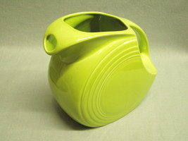 Contemporary Fiesta Ware Disk Water Pitcher P86 Lemon Grass Green Homer ... - $23.75