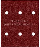 Build Your Own Bundle of RYOBI P440 1/4 Sheet No-Slip Sandpaper - 17 Grits! - $0.99