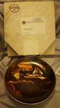 Father's Help 1983 Norman Rockwell Knowles Bradford plate - $4.00