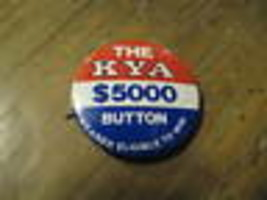 Kya Radio San Francisco California 600ms Promotion Bouton Revers Chapeau... - $24.62