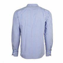 Berlioni Italy Men's & Boys Premium Yarn Dyed Luxe Cotton Dress Shirt Modern Fit image 3
