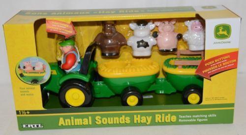 John Deere TBEK34908 Animal Sounds Hay Ride Four Animals Music