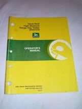 John Deere Hand Held High Moisture Range Hay Tester SW07370  Operator  M... - $16.50