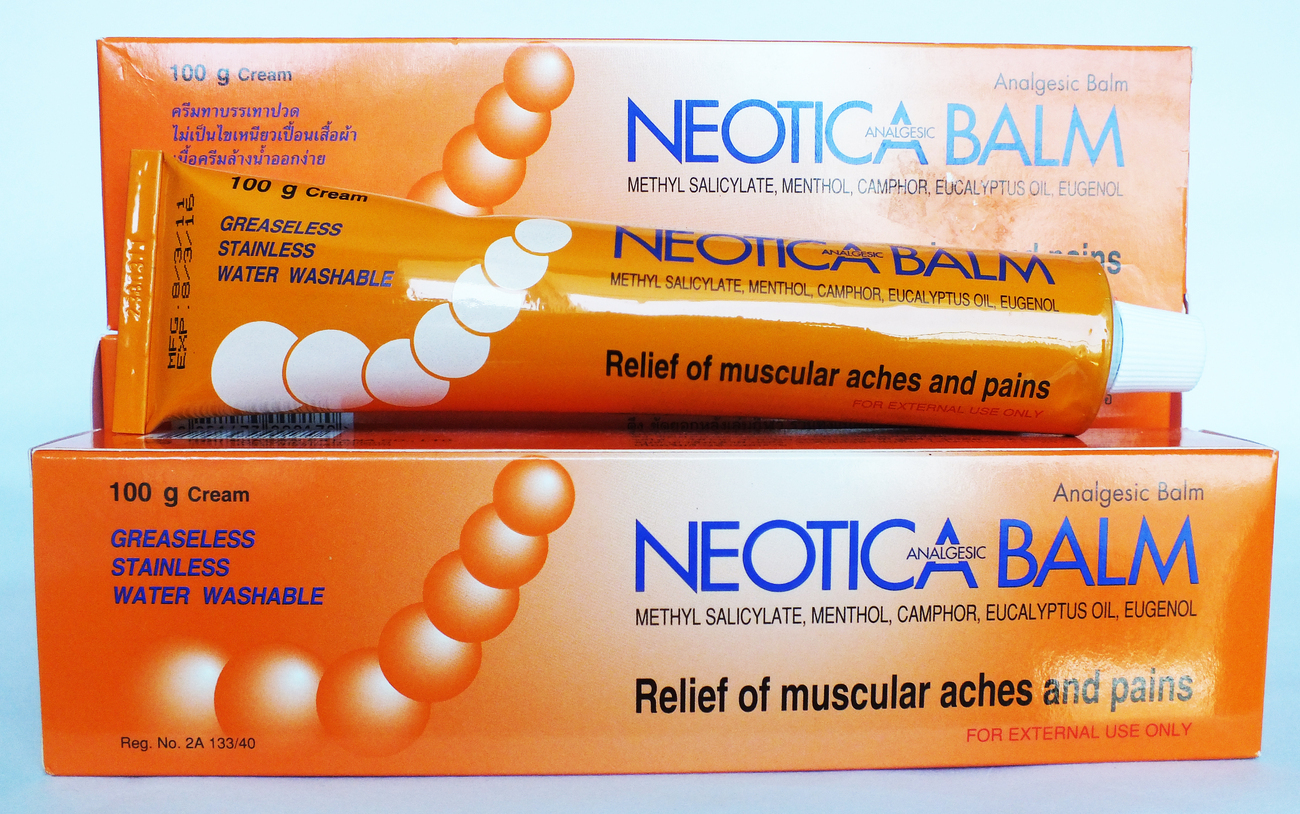 NEOTICA ANALGESIC BALM Relief Muscule Aches Sport Pains Insect Bite 60g EXP 2020