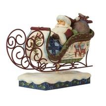 "Jim Shore Victorian Santa in Sleigh 11"" Long Christmas Collectible #6009493 image 2"