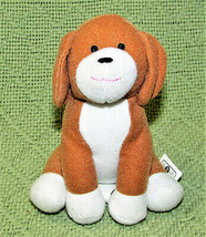 "4.5"" YOU & ME PLUSH DOG MINI STUFFED ANIMAL PUPPY TOYS R US TAN WHITE 20... - $9.90"