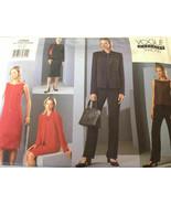 Vogue 2465 Tamotusu Jacket Dress Top Skirt Pants Size 6-10 Uncut Sewing ... - $26.43