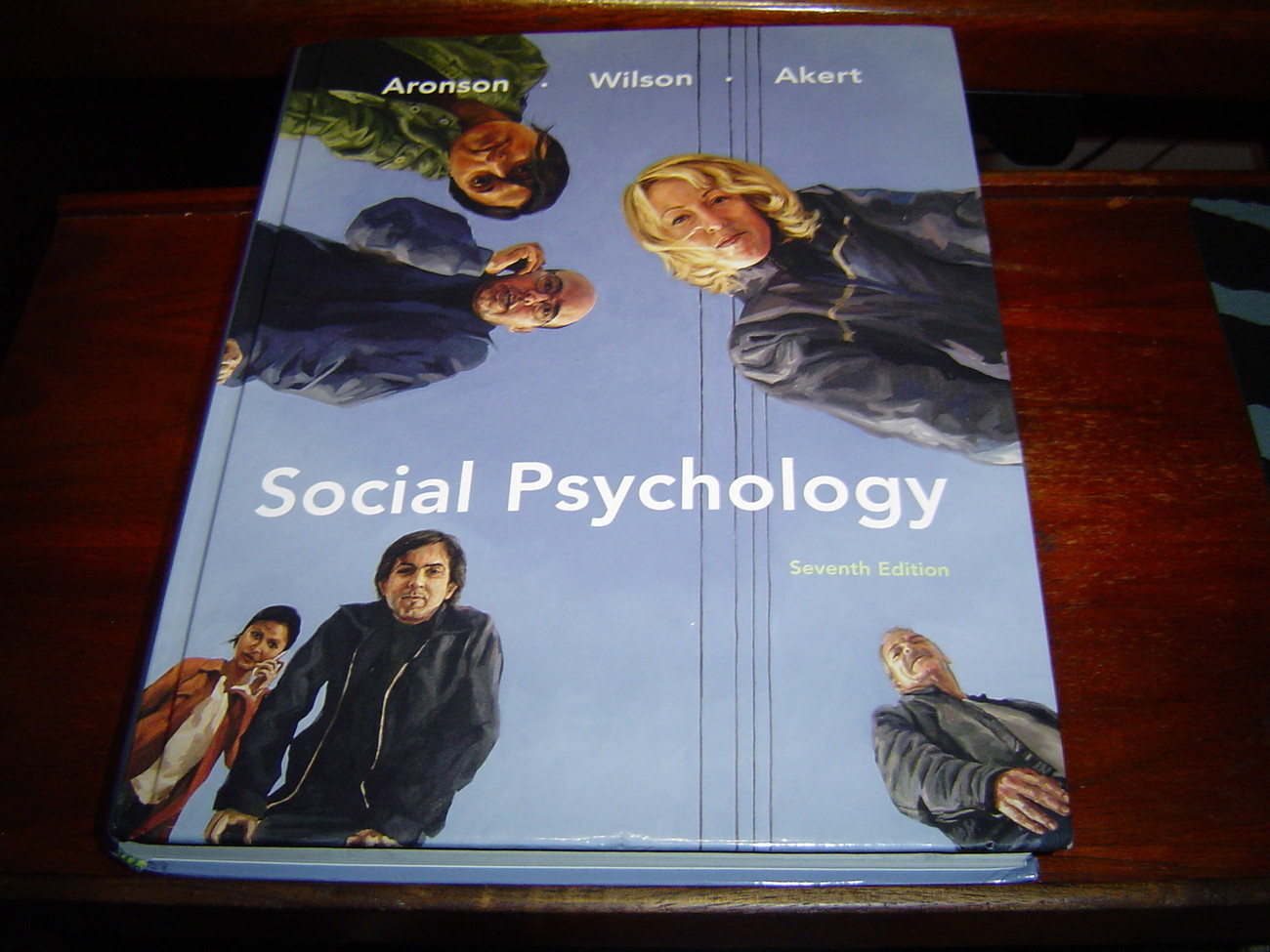 Primary image for Social Psychology 7TH US EDITION Wilson Akert Aronson (2009) 0138144788