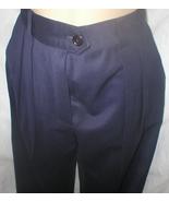 Escada dark blue dress career pants 4 - $54.95