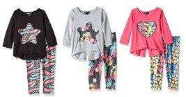Baby Girl's 2-Piece Set Limited Too Infant Long Sleeve Shirt Legging Pants NEW