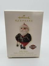 Hallmark Keepsake Harley-Davidson Santa Ornament - Jolly Rider - $9.85
