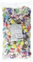 Sweets Salt Water Taffy, Assorted Flavors, 3 Pound, Soft, Non-Sticky - $18.49