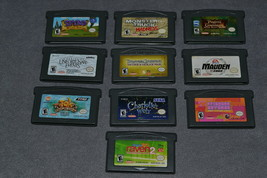 Nintendo Game Boy Advance: 10 Game Lot - $24.00