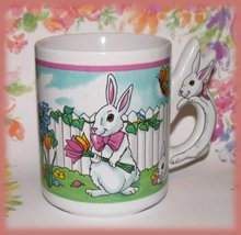 Cup bunnies garden easter front thumb200