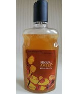 Bath & Body Works Pleasures SENSUAL AMBER Bubble Bath 10 fl oz 95% full ... - $29.70