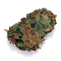 1MX2M Hunting Camping Military Photography Camouflage Net Woodland Leave... - $22.99